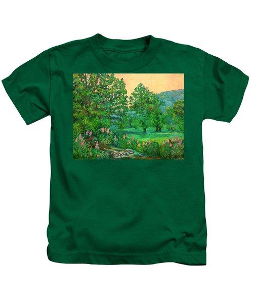 Park Road In Radford Kids T-Shirt
