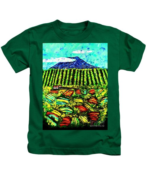 Sumatra Coffee Plantation Kids T-Shirt