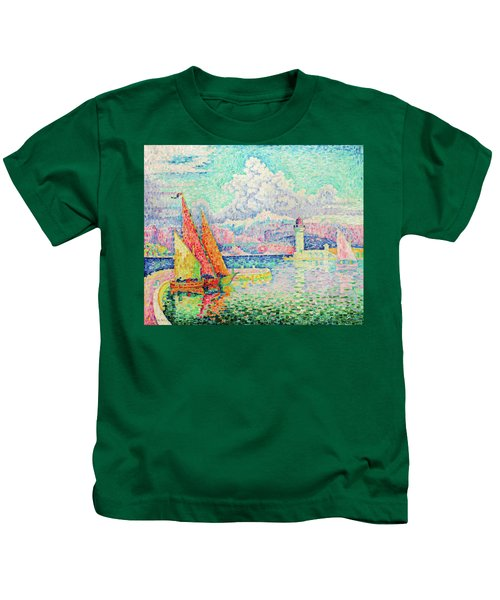The Musior, Port Of Antibes - Digital Remastered Edition Kids T-Shirt