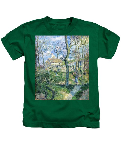 The Path To Les Pouilleux, Pontoise - Digital Remastered Edition Kids T-Shirt