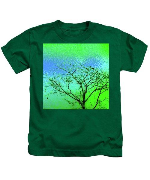 Tree And Water 3 Kids T-Shirt