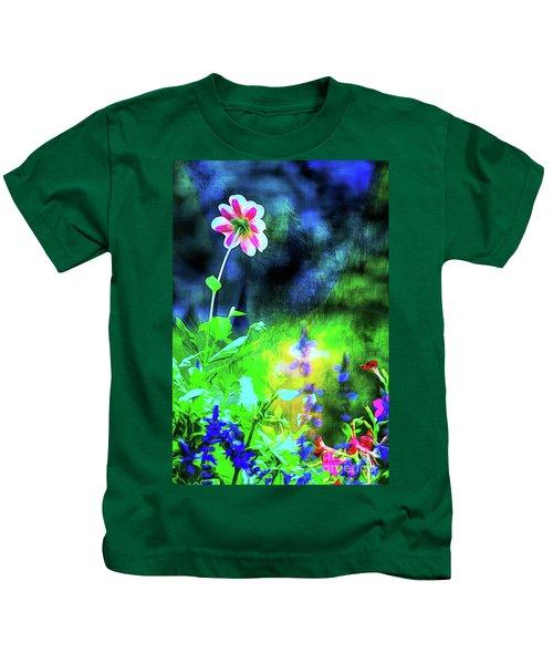 Underwater Garden Abstract Kids T-Shirt