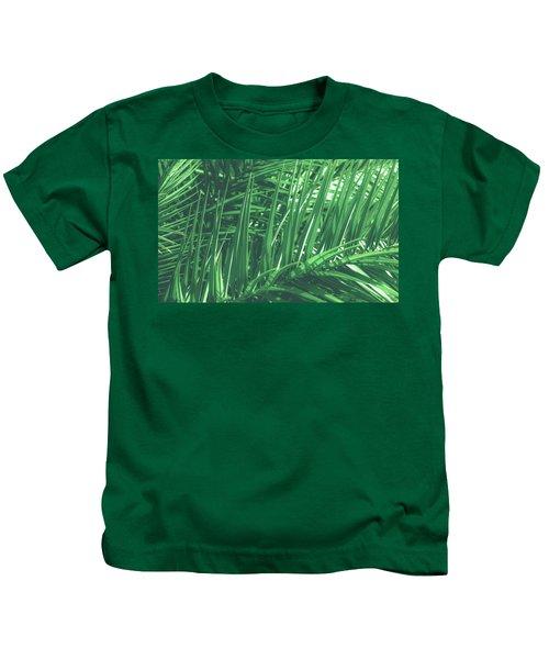 Vintage Palms V Kids T-Shirt