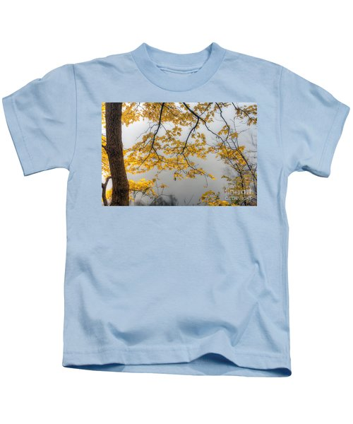 0135 Autumn Gold  Kids T-Shirt
