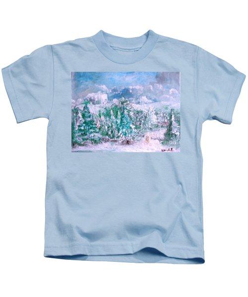 A Natural Christmas Kids T-Shirt