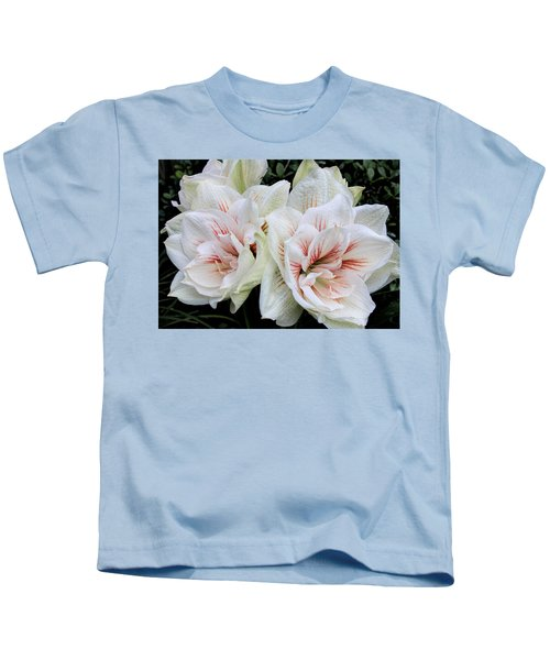 Amaryllis Cluster Kids T-Shirt