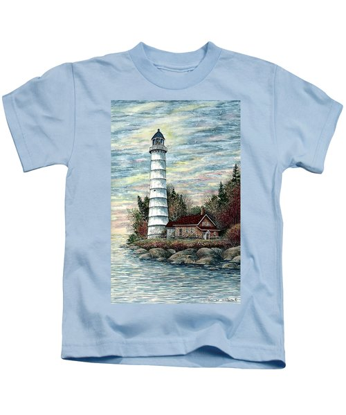 Cana Island Light Kids T-Shirt