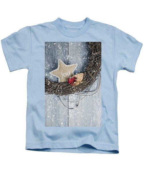 Christmas Wreath Kids T-Shirt