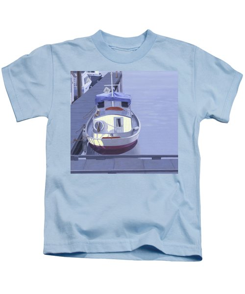 Evening At Port Hardy Kids T-Shirt