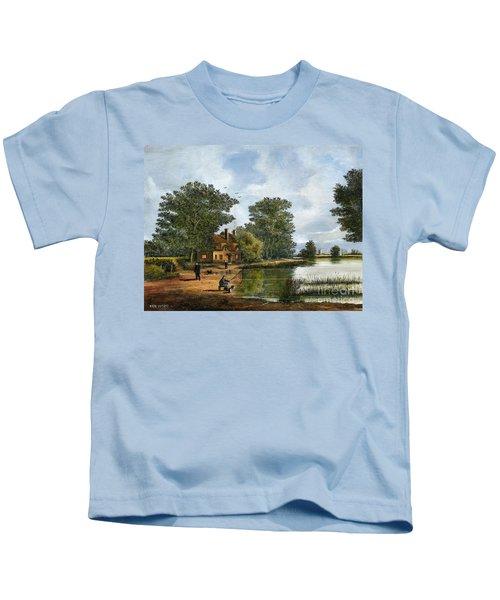 Gone Fishing Kids T-Shirt