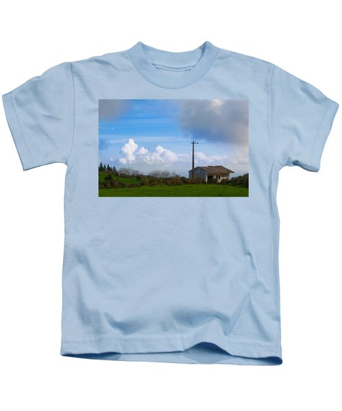 House At End Of The World Kids T-Shirt