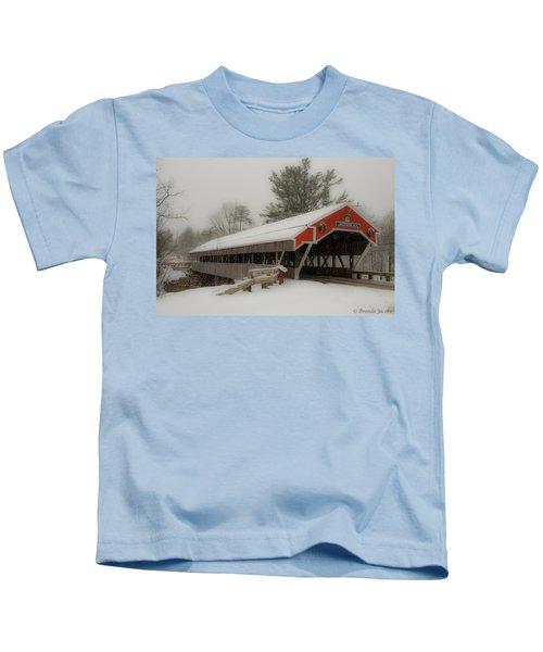 Jackson Nh Covered Bridge Kids T-Shirt