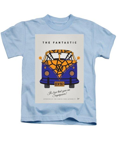My Superhero-vw-t1-the Thing Kids T-Shirt