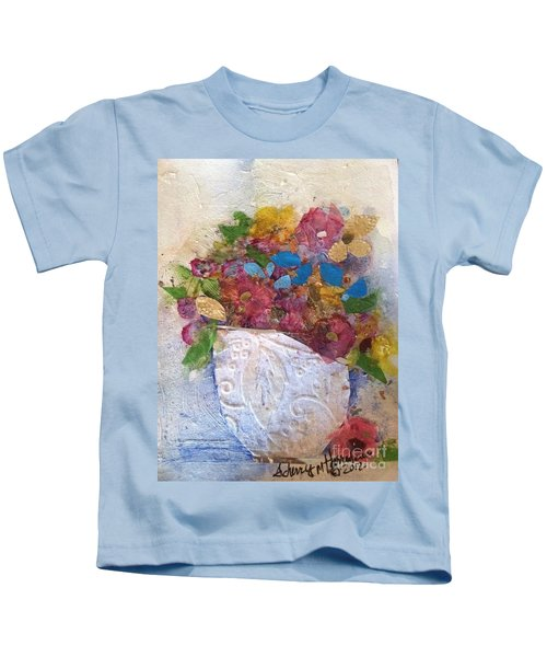 Petals And Blooms Kids T-Shirt