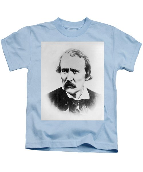 Portrait Of Kit Carson Kids T-Shirt