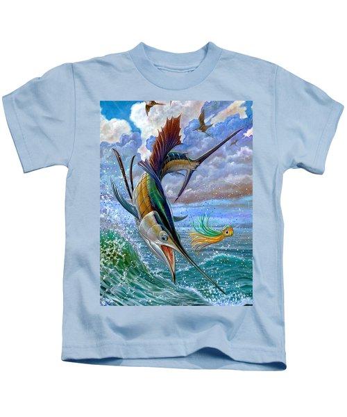 Sailfish And Lure Kids T-Shirt
