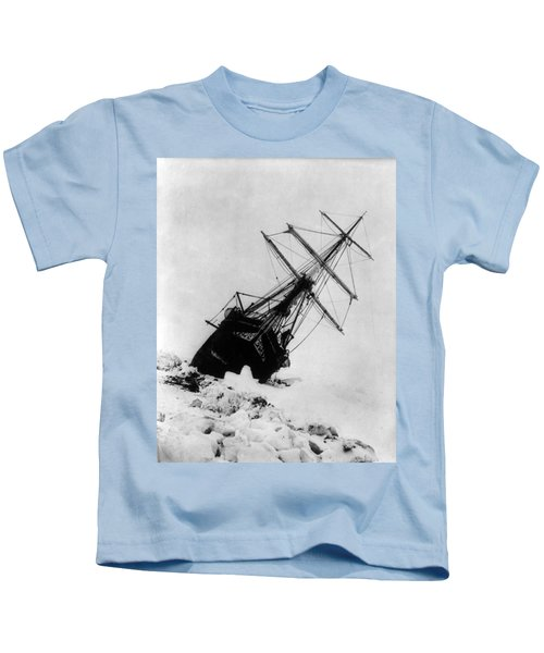 Shackletons Endurance Trapped In Pack Kids T-Shirt