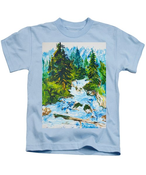 Spring Run-off Kids T-Shirt