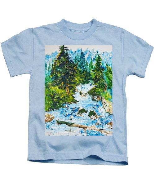 Spring Run-off Kids T-Shirt