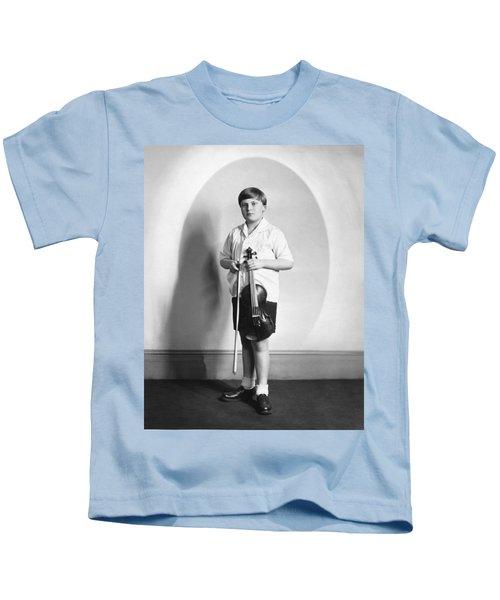 Violinist Yehudi Menuhin Kids T-Shirt