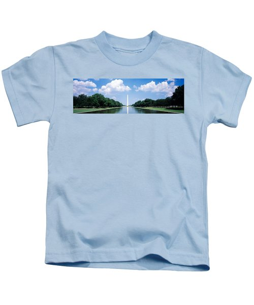 Washington Monument Washington Dc Kids T-Shirt by Panoramic Images
