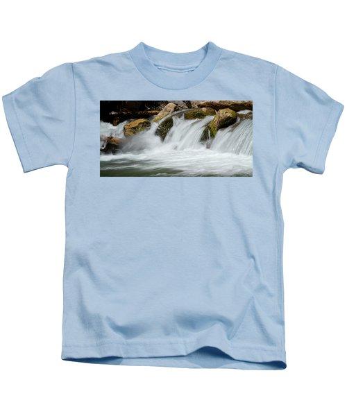 Waterfall - Zion National Park Kids T-Shirt