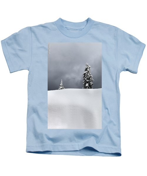 Winter Trees Kids T-Shirt