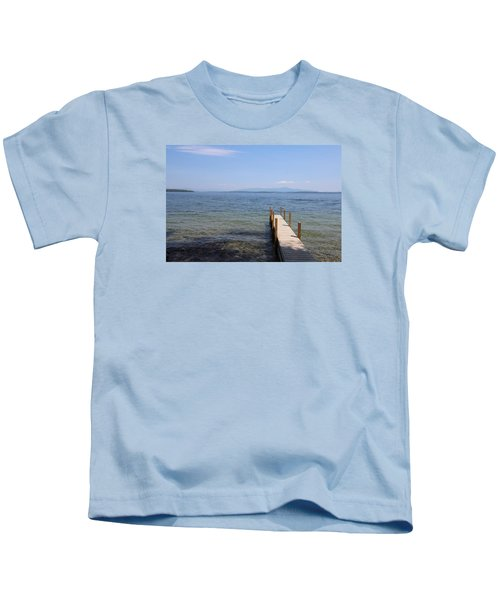 Lake Winnipesaukee Kids T-Shirt