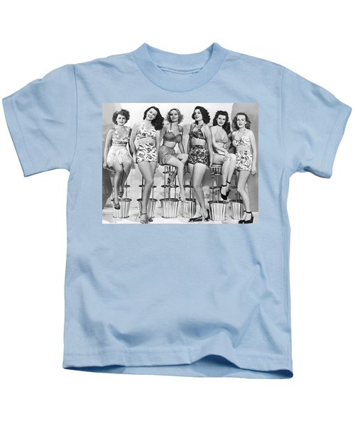 1950s Bathing Suits Kids T-Shirt
