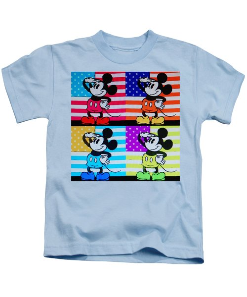 American Mickey Kids T-Shirt