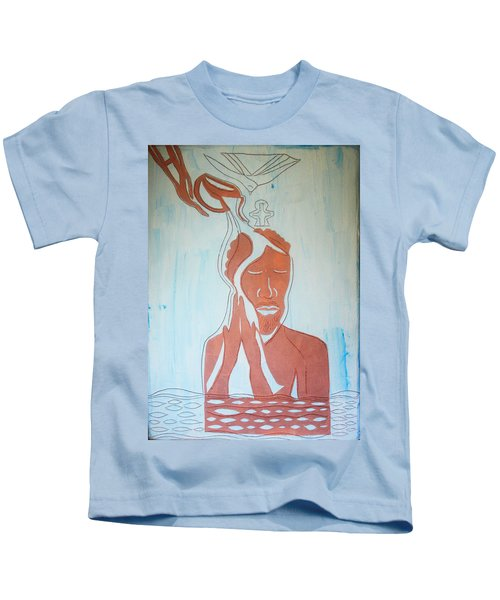 Baptism Of The Lord Jesus Kids T-Shirt