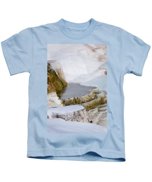 Mammoth Terraces Kids T-Shirt