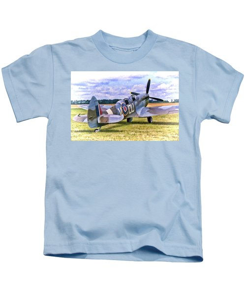 Supermarine Spitfire T9 Kids T-Shirt
