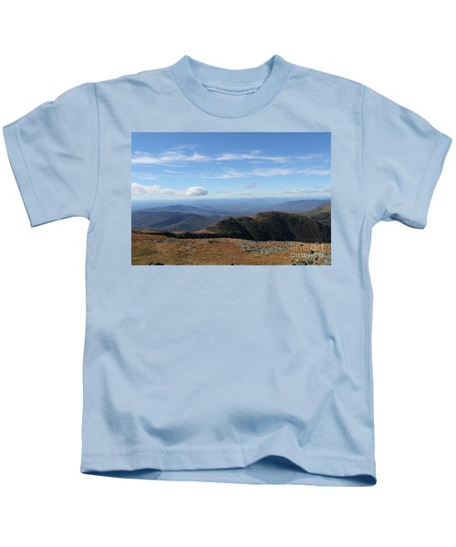 Top  Mt Washington  Kids T-Shirt