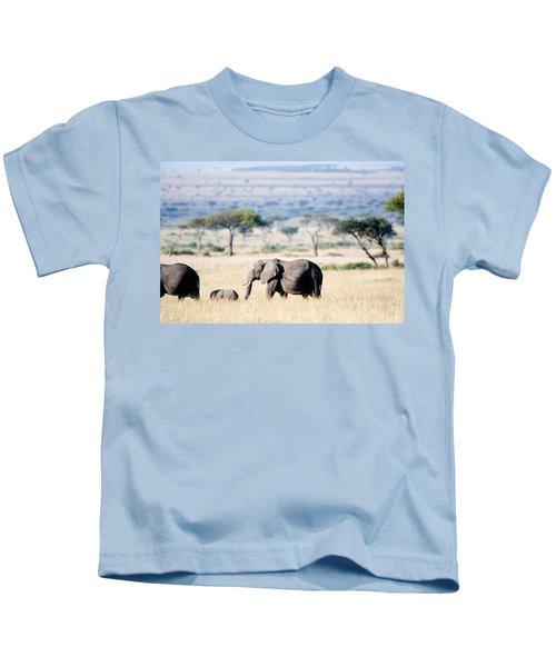 African Elephant Loxodonta Africana Kids T-Shirt