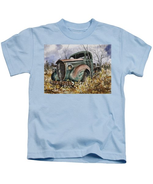 39 Ford Truck Kids T-Shirt