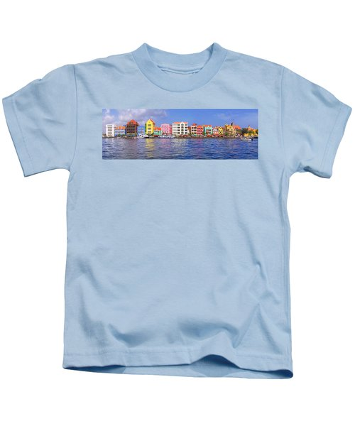 Buildings At The Waterfront Kids T-Shirt