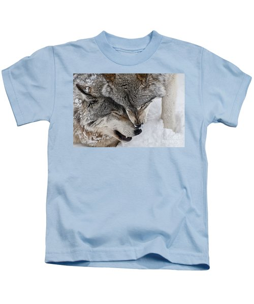 Timber Wolf Pictures Kids T-Shirt