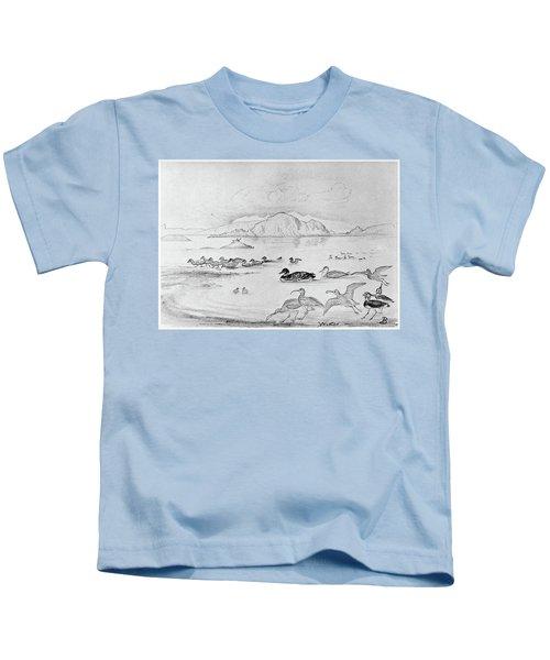Blackburn Birds, 1895 Kids T-Shirt