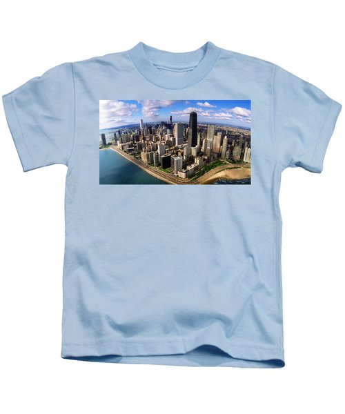 Chicago Il Kids T-Shirt by Panoramic Images