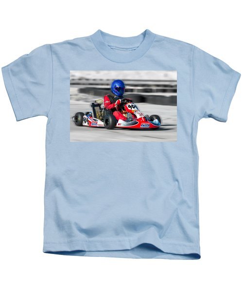 Racing Go Kart Kids T-Shirt
