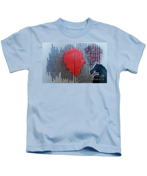 A Glance Of The Wind Kids T-Shirt
