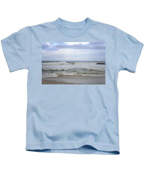 A Peek Of Blue Kids T-Shirt