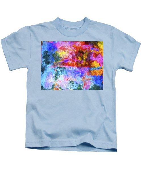 Abstract Artwork 20 Kids T-Shirt