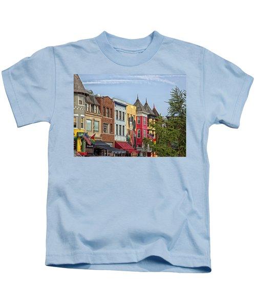 Adams Morgan Neighborhood In Washington D.c. Kids T-Shirt