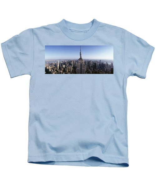 Aerial View Of A Cityscape, Empire Kids T-Shirt