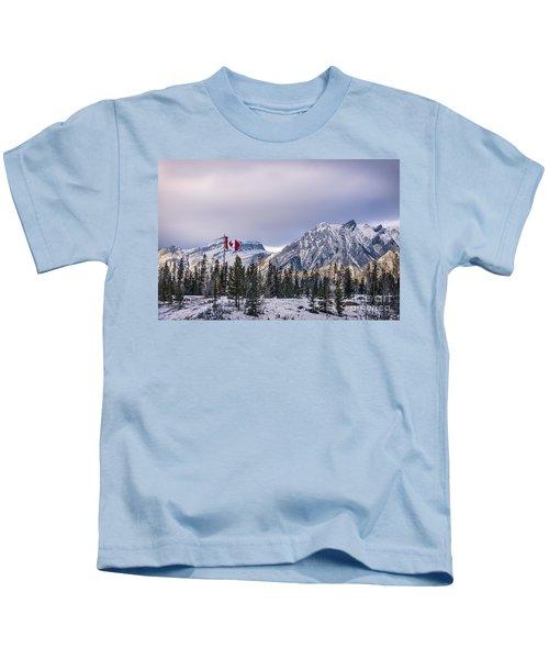 Ageless Northern Spirit Kids T-Shirt
