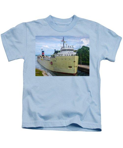 Alpena Upbound At The Soo Kids T-Shirt