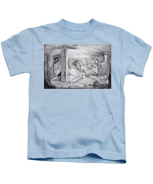 Alpha And Omega - The Reconstruction Of Bogomils Universe Kids T-Shirt
