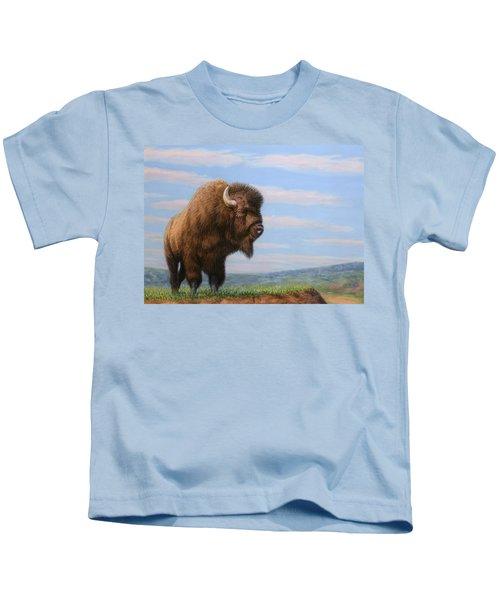American Bison Kids T-Shirt